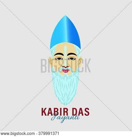 Kabir Das Jayanti A Birth Anniversary Of Indian Poet From 15th Century. Abstract Design.