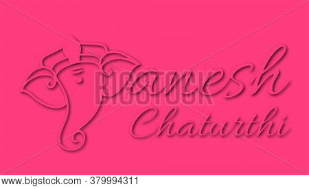 Vector Illustration Of Lord Ganpati Abstract Background For Ganesh Chaturthi Festival Of India Abstr