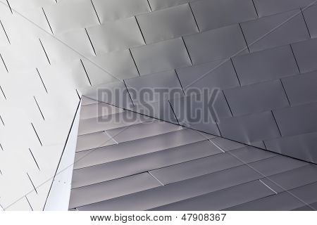 Shiny Abstract Metal Pattern