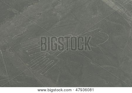 Geoglyph Called The Hands