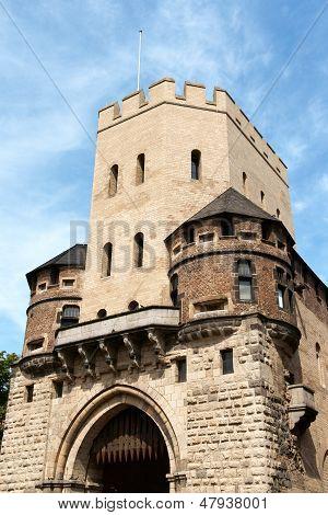 Severinstor (city Gate Severin) In Cologne
