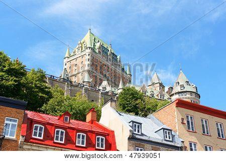 Glimpse Of Quebec City