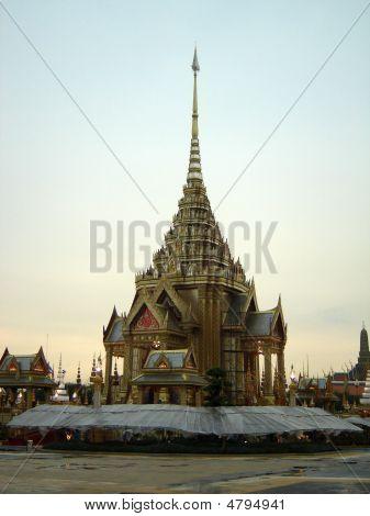 The Phra Meru Grounds In Bangkok Thailand
