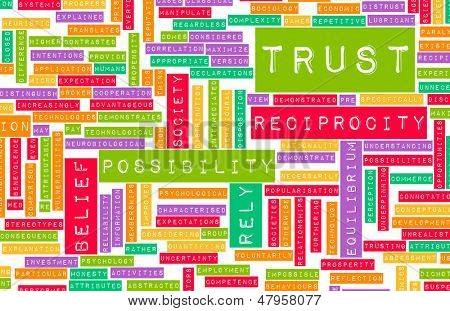 Concept of Trust and Belief in a Person