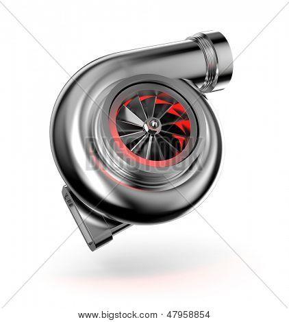 Turbocompresor. Turbina para auto