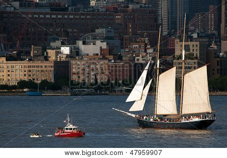 The Clipper City Tall Ship