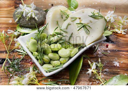 Broad Beans And Pecorino