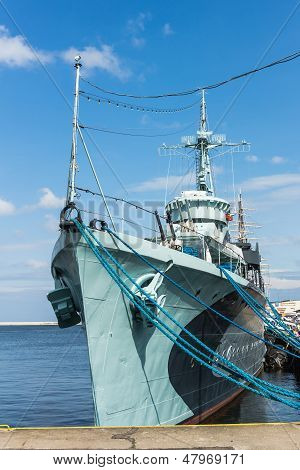 The destroyer ORP Blyskawica