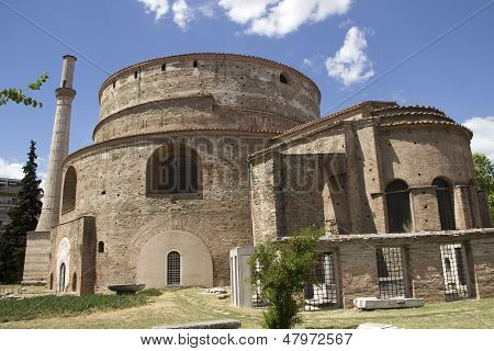 The Church Of The Rotonda In Thessaloniki