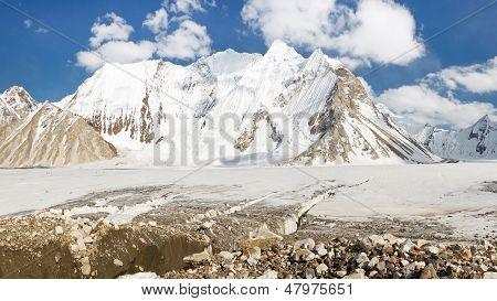 Vigne Glacier, Karakorum, Pakistan