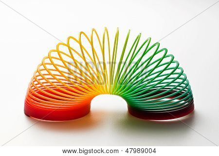 Rainbow Colored Toy