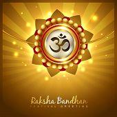 stylish vector hindu raksha bandhan festival background poster