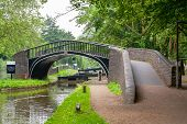 Bridge on the Oxford Canal and Isis Lock. Oxford Oxfordshire England poster