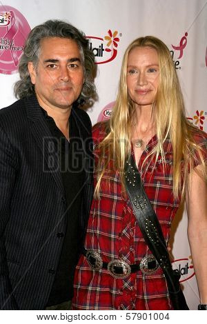 Mitch Glazer and Kelly Lynch  at the concert to promote the 10th Anniversary of Yoplait's Save Lids To Save Lives Program. The Wiltern Theatre, Los Angeles, CA. 10-10-08