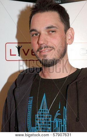 DJ AM  at the Grand Reopening of The Hollywood Palladium. Hollywood Palladium, Hollywood, CA. 10-15-08