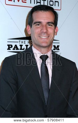 Eric Garcetti  at the Grand Reopening of The Hollywood Palladium. Hollywood Palladium, Hollywood, CA. 10-15-08