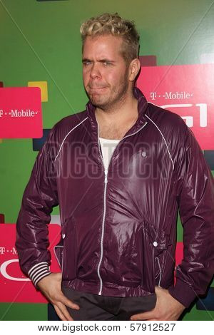 Perez Hilton  at the T-Mobile G1 Launch Party. Siren Studios, Hollywood, CA. 10-17-08