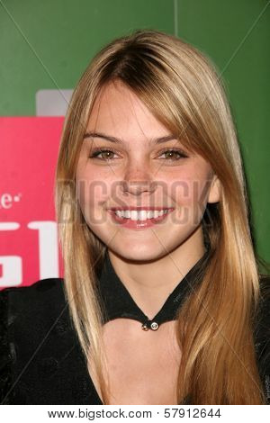 Aimee Teegarden  at the T-Mobile G1 Launch Party. Siren Studios, Hollywood, CA. 10-17-08