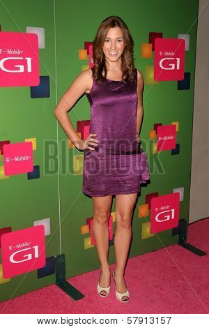 Carly Craig  at the T-Mobile G1 Launch Party. Siren Studios, Hollywood, CA. 10-17-08