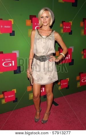 Anya Monzikova  at the T-Mobile G1 Launch Party. Siren Studios, Hollywood, CA. 10-17-08