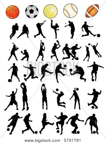 sports vector shapes