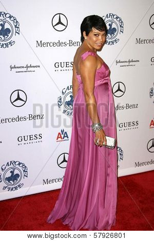 Tisha Campbell-Martin  at the 30th Annual Carousel of Hope Ball to benefit the Barbara Davis Center for Childhood Diabetes, Beverly Hilton, Beverly Hills, CA. 10-25-08