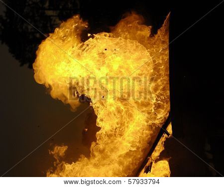 Ball Of Exploding Flame