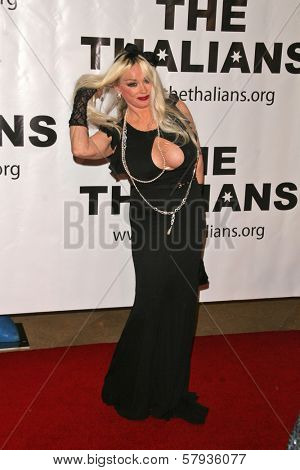 Mamie Van Doren  at the Thalians 53rd Anniversary Ball, honoring Clint Eastwood, to benefit  Cedars-Sinai Medical Center, Beverly Hilton Hotel, Beverly Hills, CA. 11-02-08