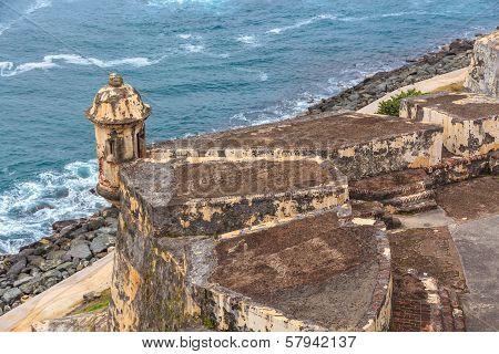 San Juan, Fort San Felipe Del Morro, Puerto Rico