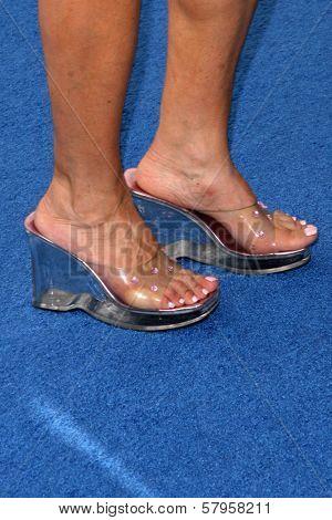 Judy Tenuta's shoes  at the