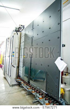 Machinery, Glass Window Factory