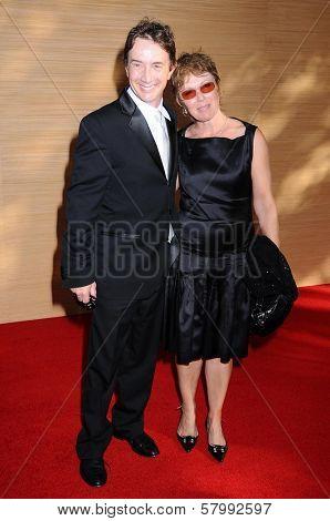 Martin Short and Nancy Dolman  at the Opening Night of the LA Opera 2008-09 Season. Dorothy Chandler Pavilion, Los Angeles CA. 09-06-08