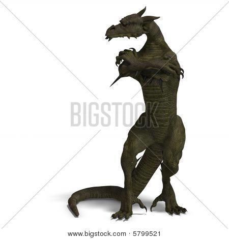 Member Of The Fantasy Dragon Folk