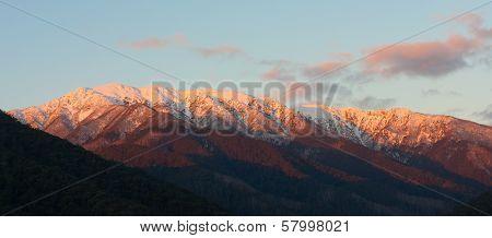 Alpine Sunset