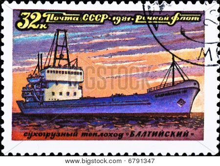 Postage Stamp Show Ship