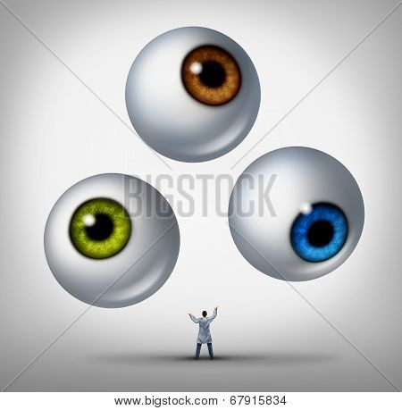 Optometrist Concept