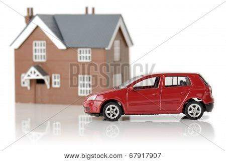 Car And House