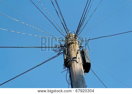 Uk Telegraph Pole
