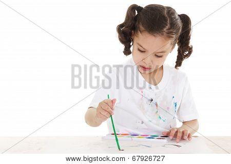 Messy Preschooler