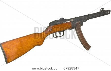 Submachine Gun Ppsh-41