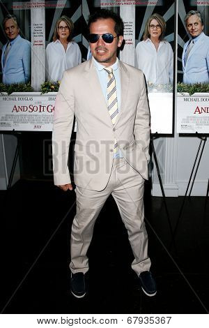 EAST HAMPTON, NEW YORK-JULY 6: Actor John Leguizamo attends the premiere of