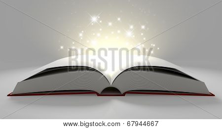 Blank Paged Magical Book