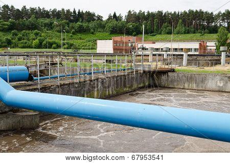 Waste Sewage Water Aeration Basin Bubble