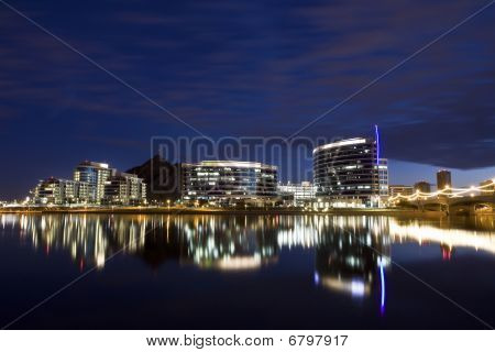 Downtown Tempe at Night