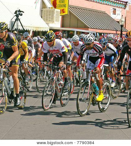 Lance Armstrong start