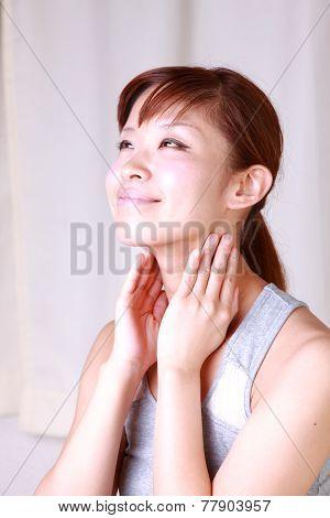 lymph node massage