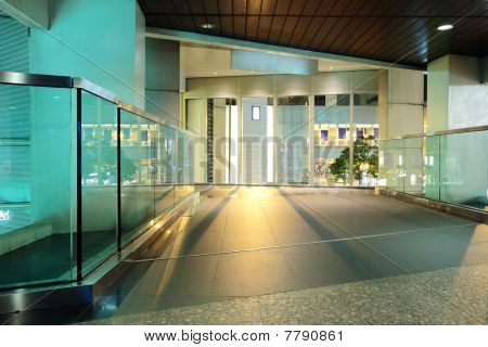 modern building inside