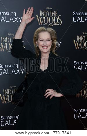 NEW YORK-DEC 8: Actress Meryl Streep attends the