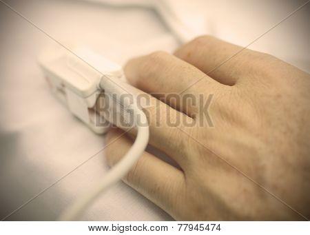 Sick Person's Hand