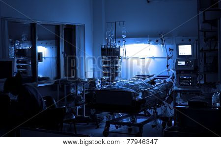 Night Duty In Intensive Care Unit